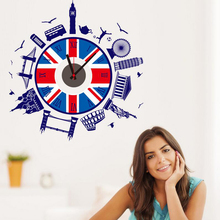 Decorative living room european wall clock
