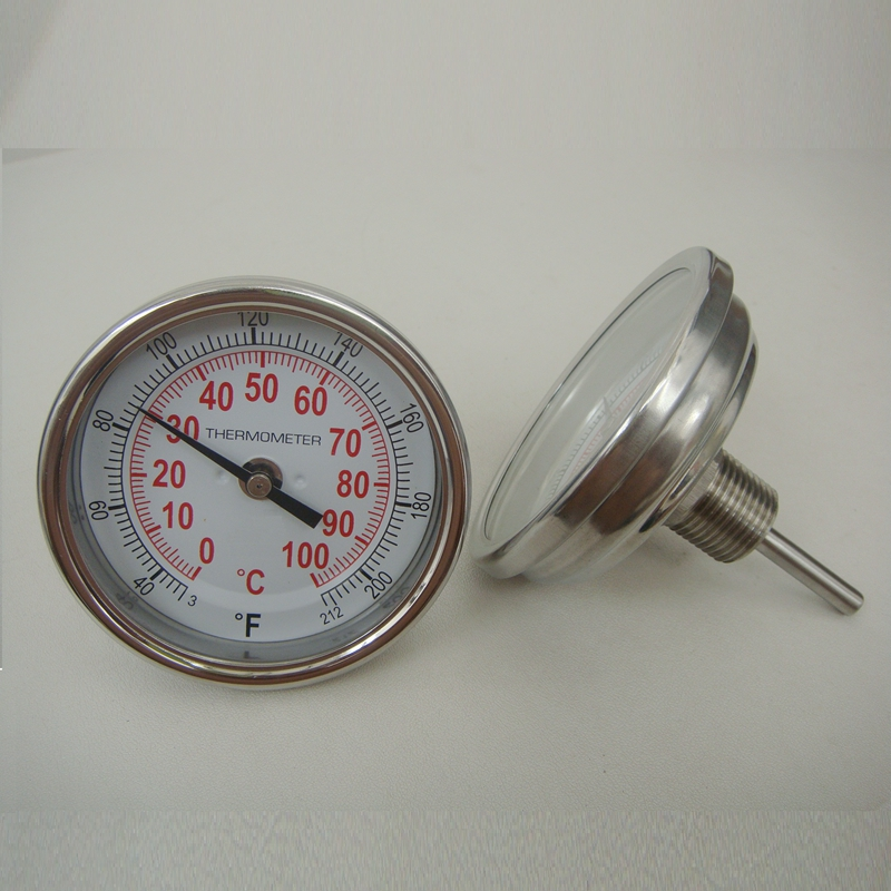 High Quality Boiler Bimetal Thermometer