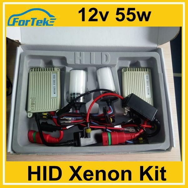 hot sale super slim 55w car replacement hid xenon kit H7 5000K 6000k 8000k