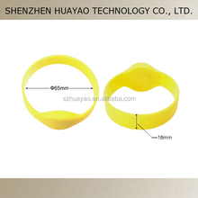 LF / HF/ UHF RFID wristband for events