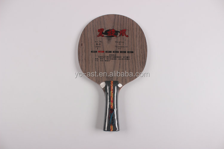 wooden table tennis rackets table tennis bats/paddle