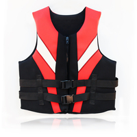 women fashionable buckle neoprene life jacket
