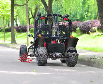 electric 2 seater go kart system exporter