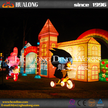 New Product Wish Silk Lanterns for Festival