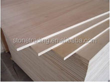 Shandong Factory product Natural wood Okoume wood veneer plywood for furniture poplar material 1220x2440x18mm
