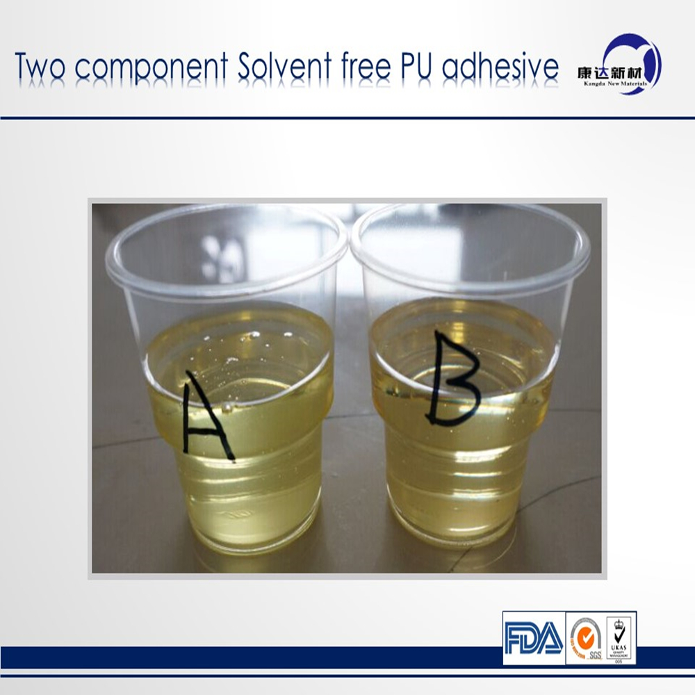 two component Food grade solvent free PU Adhesive/solventless laminator