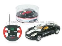 1:52 5 channel mini remote control car