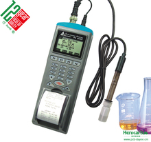 Handheld Water Quality Tester PC Interface Software 4000 Points Record Digital Temperature Ph Meter ORP Data Logger Printer