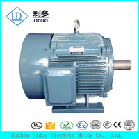YX3 Series ac 3 phase induction 200 kw 220v ac traction motor