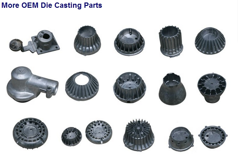 high precision die cast LED heatsink/OEM die cast company(ISO9001)/die cast mould making