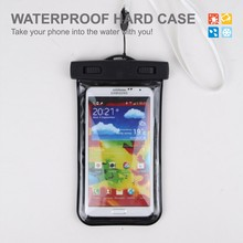 Hight Quality Outdoor Sport Cool Pvc Waterproof Mobile Phone Bags For All 5-6Inch Screen Phones