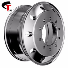 Shengte China factory 22.5x9.5 Forged Aluminum Alloy Truck Wheels