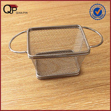 Chips Mini Fry Baskets Stainless Steel Fryer Basket Strainer industrial