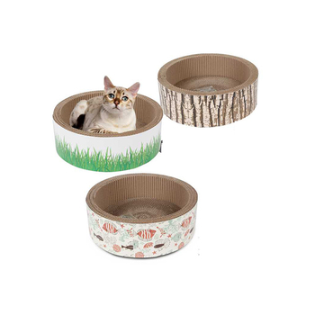Import China Goods Corrugated Cat Scratching Toys Board for Playing