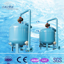 Automatic Timer Control Pressure Sand Filter For Water Treatment