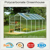 greenhouse triangle shape roofing polycarbonate sheet for sale