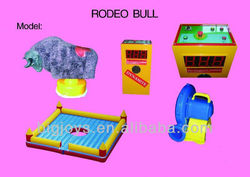2013 new popular interesting design inflatable rodeo bull machine