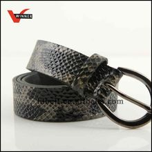 Snake Skin PU Women Belts