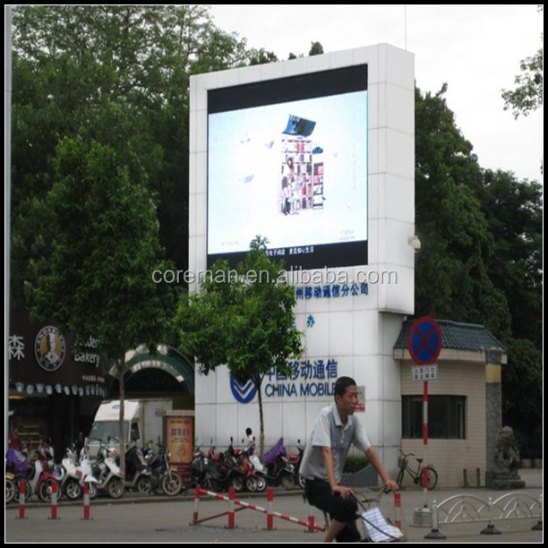 ali express movies graphic p12.5 outdoor led display in alibaba / p12 HD video led panel billboard