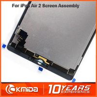 Full LCD display for ipad 6 64gb, for ipad 6 LCD digitizer assembly replacement