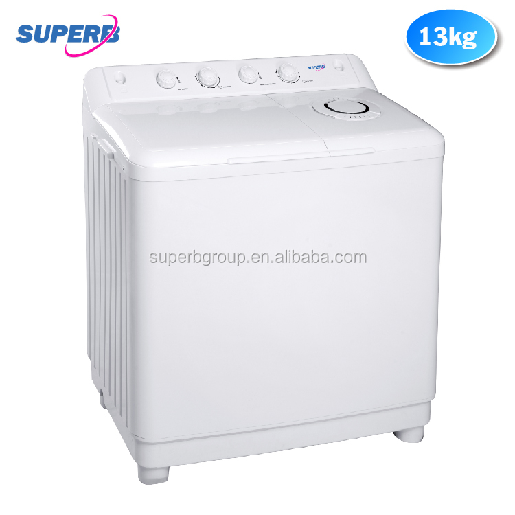 big capacity twin tub washing machine 13KG