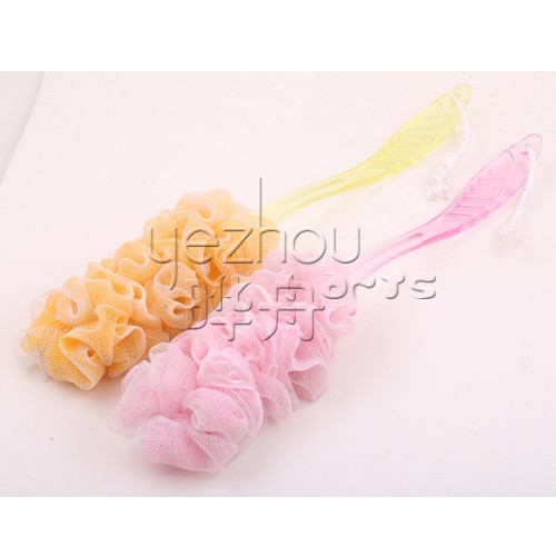Bath Sponge Wth Handle,Plastic Bath Brush ,Massage Brush