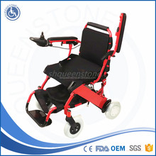 Joystick controller power electric wheelchai cerebral palsy children chair for Disabled Leg