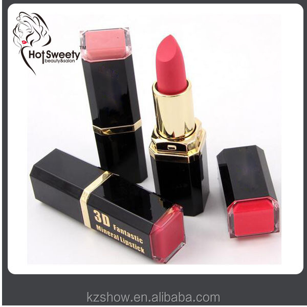2016 longlasting moisturizing waterproof lipstick matte lips beauty makeup make custom brand