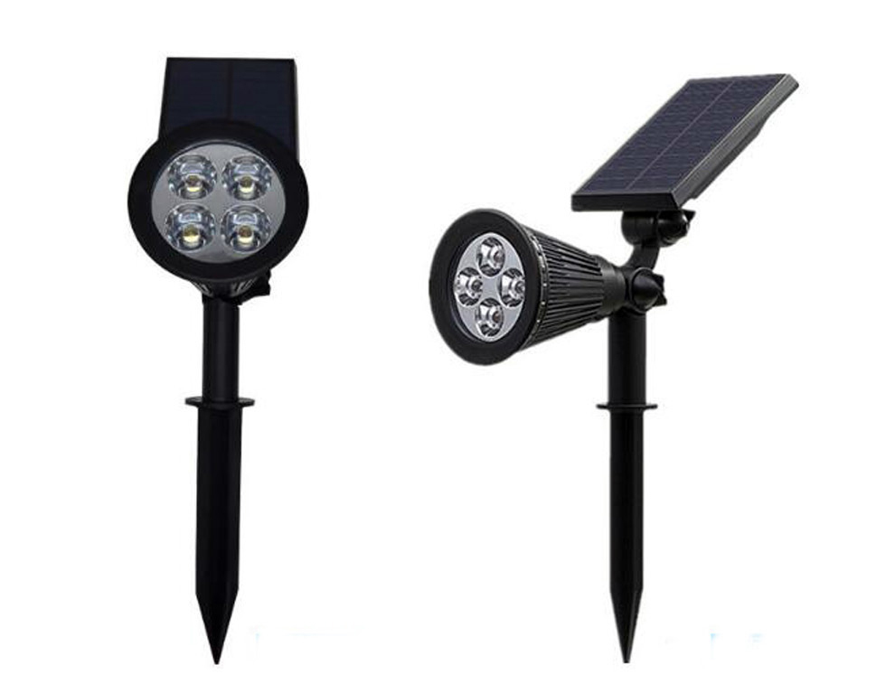 All In One Led Spotlight Lamp Waterproof Motion Led Solar Garden Light For Yard Landscape