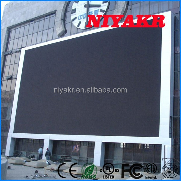 Niyakr Top Ten LED Manufacturers 2015 Hot Sale Hd xxx Sex Video China Full Color P10 LED Tv Display Panel Video xxx Japan