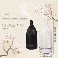Zen Ultrasonic ceramic aromatherapy essential oil diffuser air freshener dispenser aroma diffusers essential oils electric
