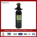 Metal Mustache Wine Bottle Cover Decor
