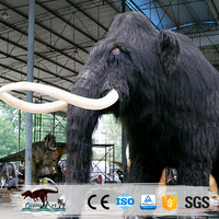 OA3020 Museum Life Size Artificial Animatronic Mammoth