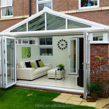 Nice sound insulation and decoration nature aluminum portable sunroom