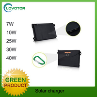 Ultralight Thin Film 11W Flexible Solar Mobile USB Charger Portable solar Panel