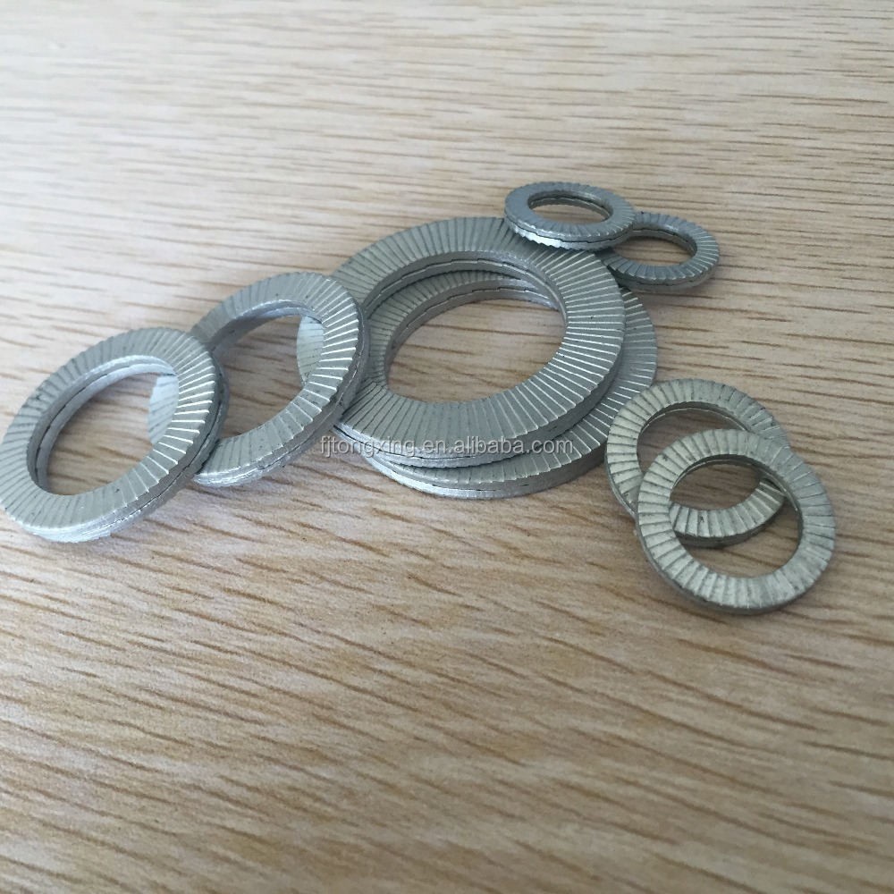 double side toothed lock washer