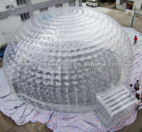 Hot selling clear inflatable lawn tent