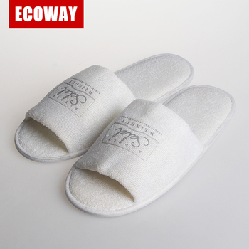 hotel accessories and amenities best selling terry towel slipper