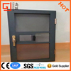 2016 New products Aluminum built-in windows with Stainless 304 Security wrought iron windows protection