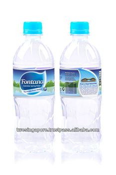 Mineral water 1.5L PET bottle