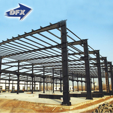 Structural Steel Prefabricated Sheds / Factory Types Portal Frame