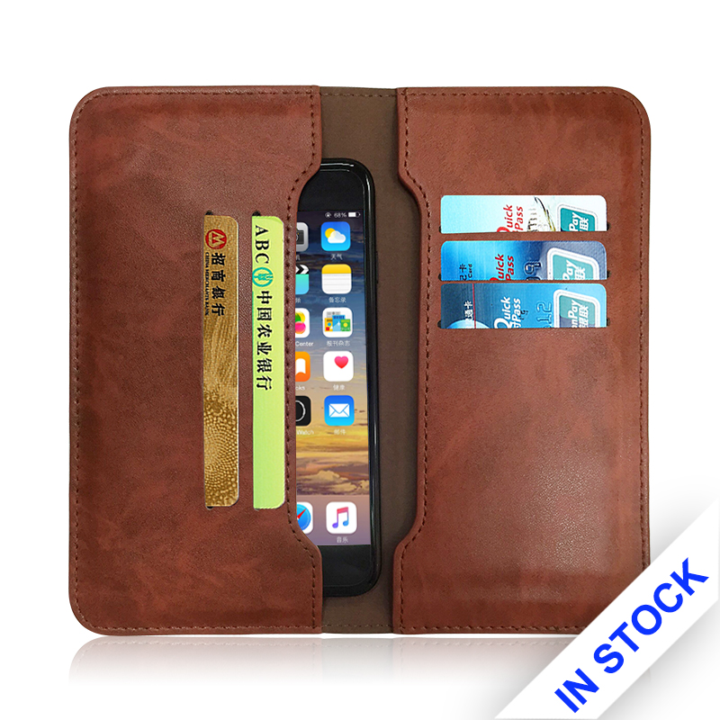 Factory wholesale hot sale card holder phone case learther for various types of mobile