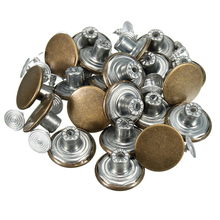 High Quality Clothing Apparel DIY Handmade Fashion 17mm Jeans Jacket Buttons And Rivets Bronze Metal Button