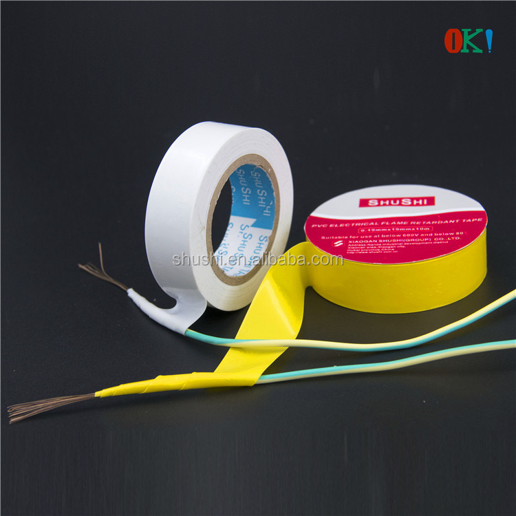 Wrapping PVC Tape for Wire and Cable Good Insulation