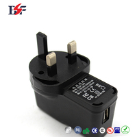 12v 1000ma usb black battery charger