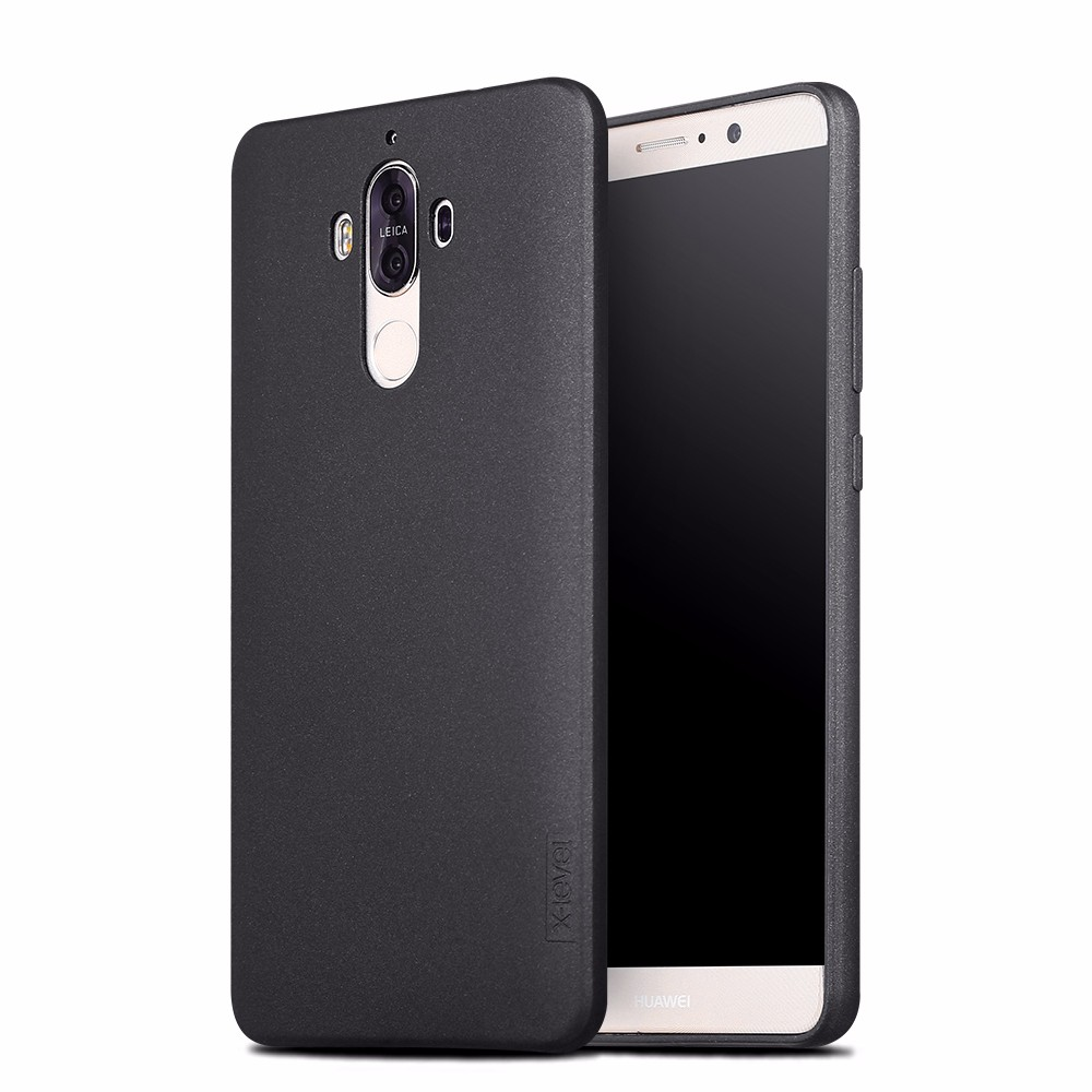[X-Level] New Model Ultra Slim Soft TPU Smart Phone Black Back Cover for Huawei Mate 9 Case