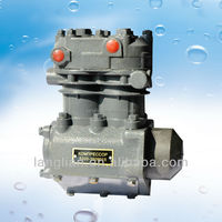 China Auto Compressor KAMAZ Truck Two-cylinder Air Brake Compressor