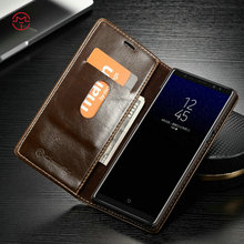 CaseMe PU Flip Leather Case Cover For Samsung Galaxy Note 8 Wallet Leather Cover Wholesale