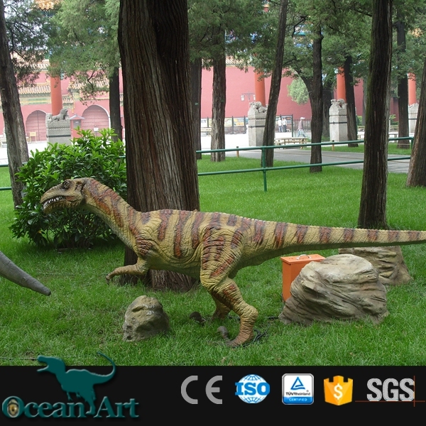 OAV23800Amusement park decoration lifelike artificial dinosaur for sale