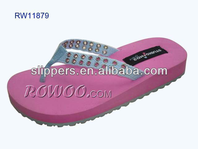 ROWOO comfort pink Fashion Style Lady Slipper